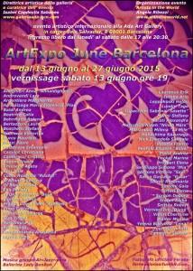 LOCANDINA artexpo june barcelona  rid