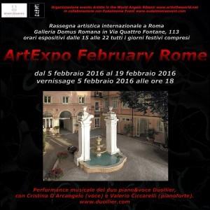 FLYER-FRONTE ArtExpo February Rome-r