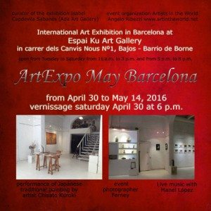 flyer-fronte-rid-ArtExpo May Barcelona