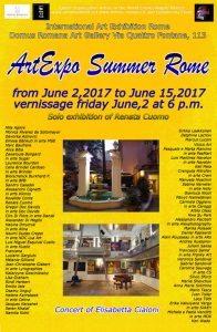Locandina-ArtExpo Summer Rome RR